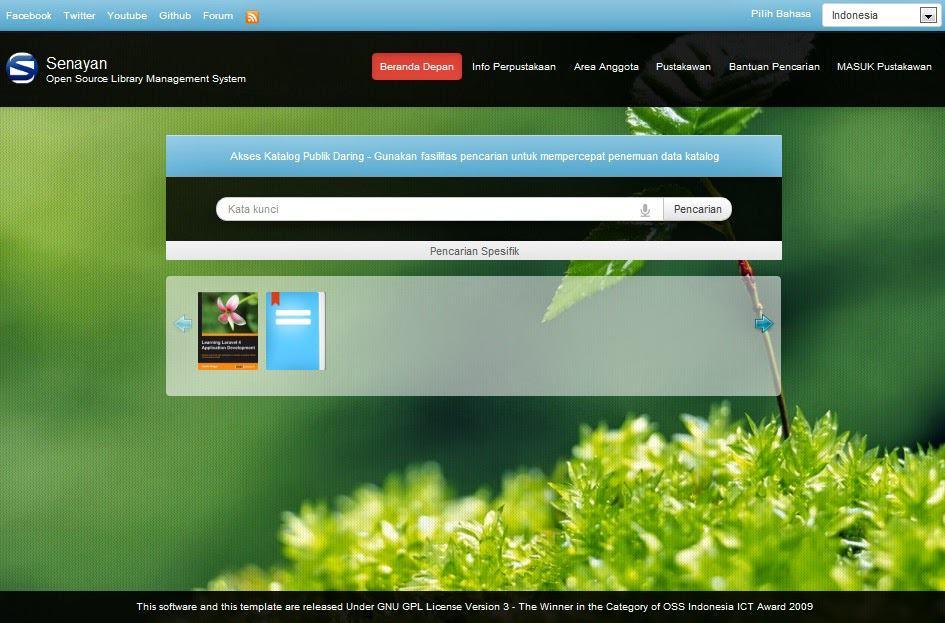 Aplikasi Pengelolaan Perpustakaan Sekolah SLIMS