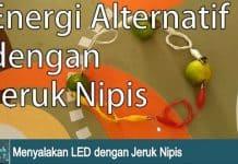 percobaan energi alternatif