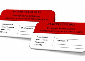 KKM Kelas 4 SD