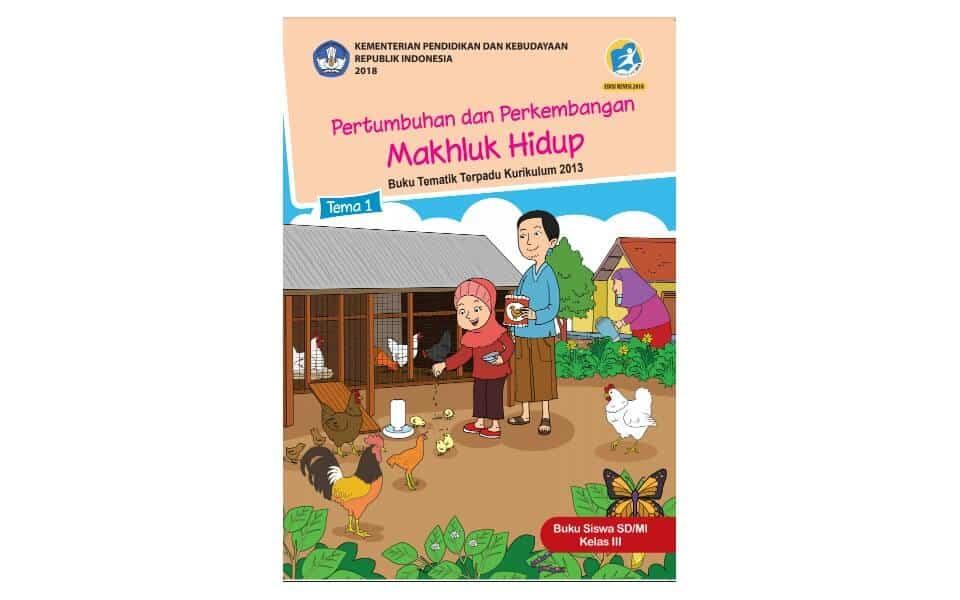 Buku Siswa Kelas 3 Kurikulum 2013 Revisi 2018 Kependidikan Com