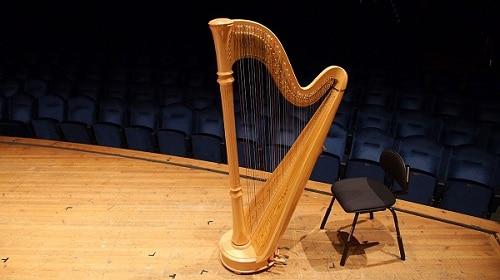contoh alat musik petik harpa