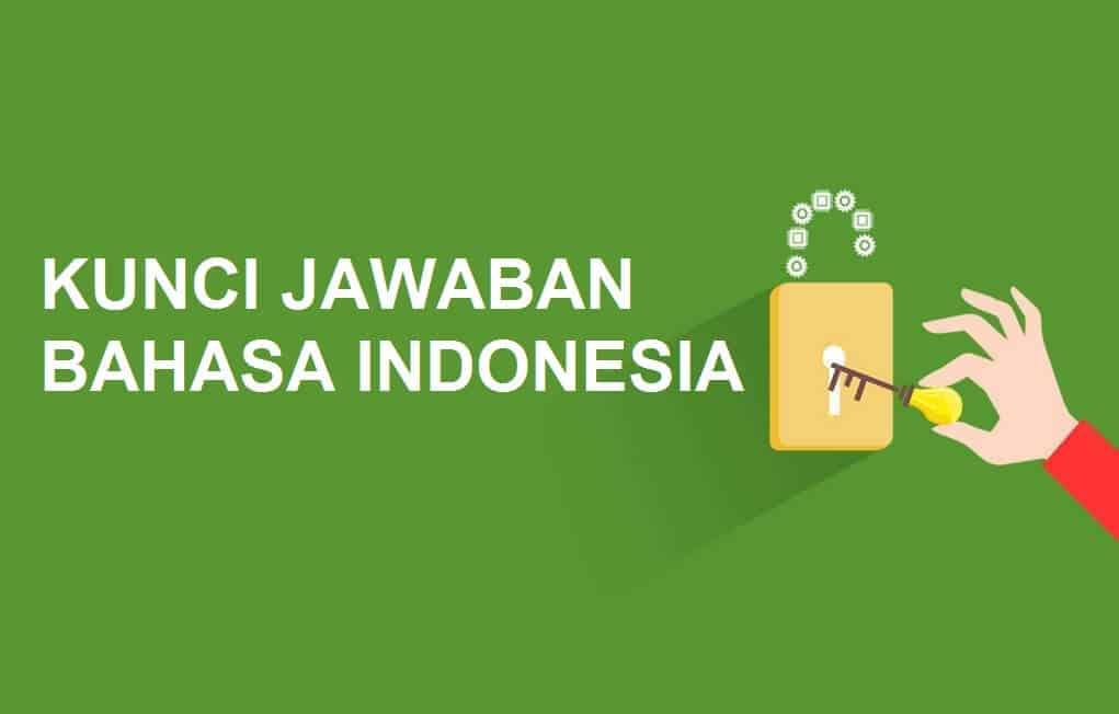 kunci jawaban bahasa indonesia SD