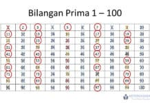 Cara Menemukan Bilangan Prima 1-100