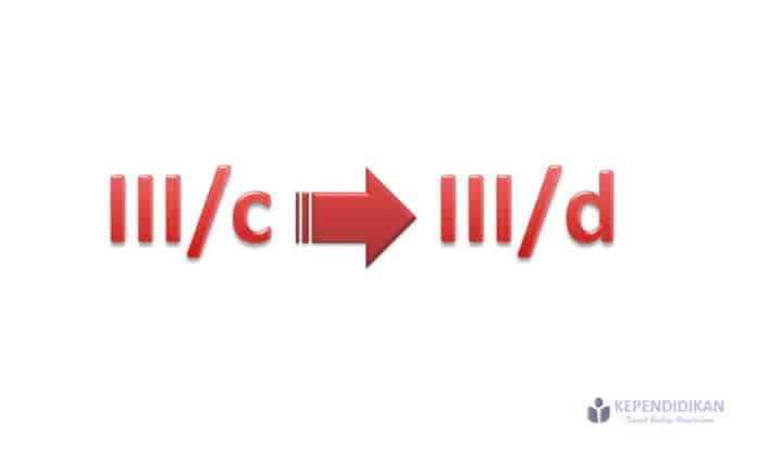 syarat kenaikan pangkat III/c ke III/d