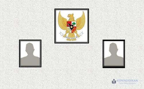 Cara Pemasangan Foto Presiden dan Wakil Presiden