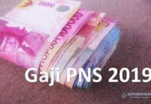 gaji PNS 2019
